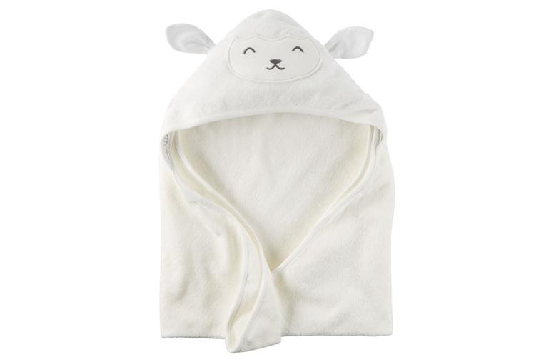 Carter's Little Lamb Hooded Towel