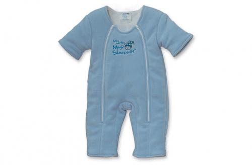 Magic Sleep Suit Blue Microfleece Magic Sleepsuit