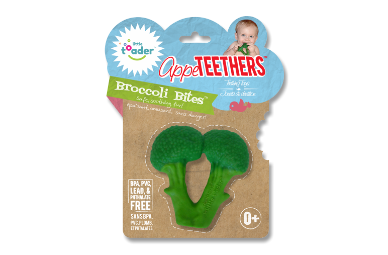 AppeTEETHERS Teething Toy – Broccoli Bites