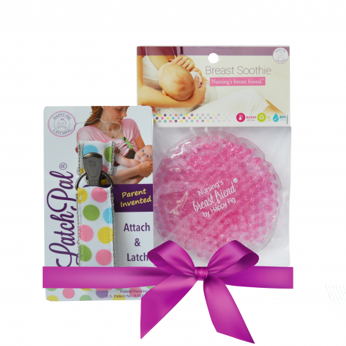 New Baby Breastfeeding Gift Set- LatchPal Nursing Clip & Soothing relief (BPA free)