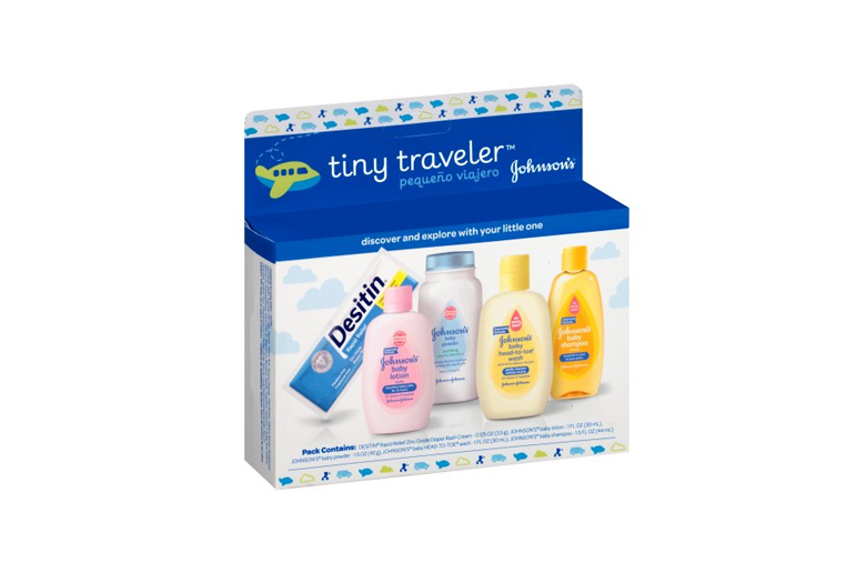 Johnson's Tiny Traveler, Baby Bath And Baby Skin Care Products