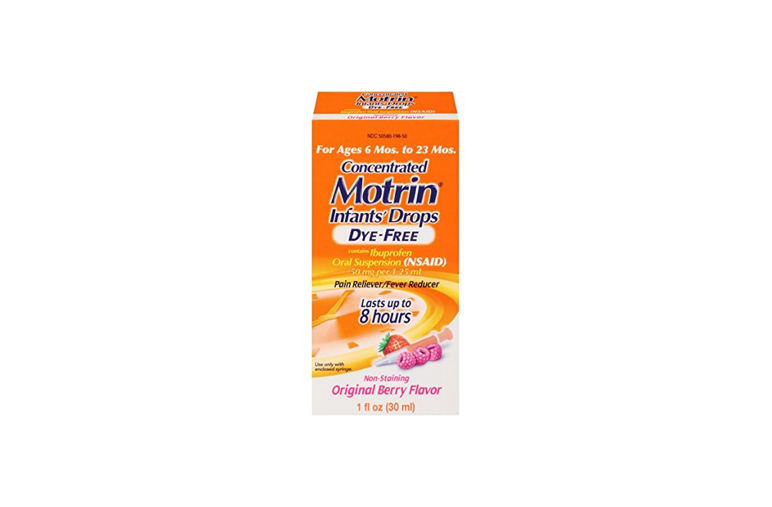 Infants' Motrin Concentrated Drops, Dye-Free