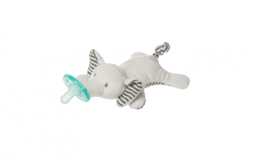 WubbaNub Infant Plush Pacifier Afrique Elephant - Mary Meyer