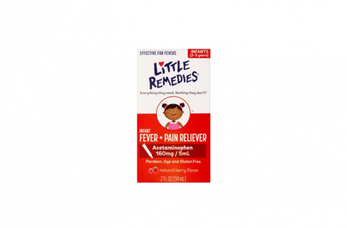 Little Fevers by Little Remedies Berry Infant Fever & Pain Reliever