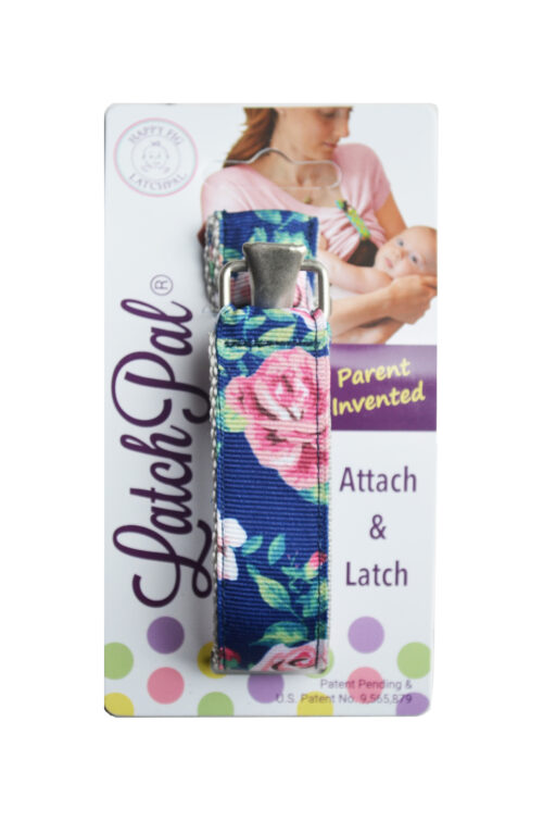Floral breastfeeding shirt clip