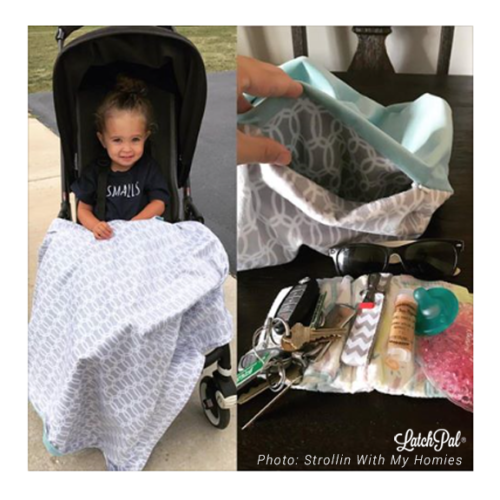 AN EASIER WAY TO CARRY YOUR KID'S STUFF- A NEW CAR SEAT & STROLLER ACCESSORY