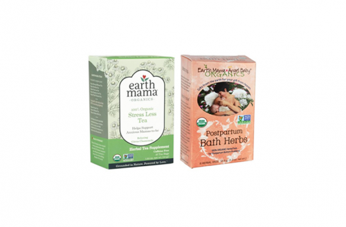 Earth Mama Organic Sitz Bath & Stress Less Tea
