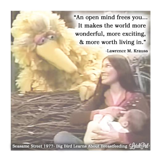 Big Bird Learns about Breastfeeding| Sesame Street