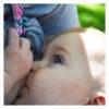 Mom Breastfeeding with LatchPal
